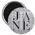 Jane Austen JANE Magnet