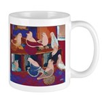 Impressionist Swallows Mug