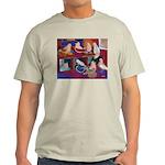 Impressionist Swallows Light T-Shirt