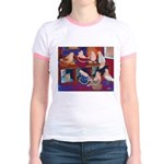 Impressionist Swallows Jr. Ringer T-Shirt