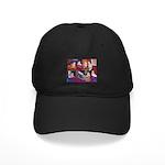 Impressionist Swallows Black Cap