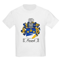 Piccardi Family Crest Kids T-Shirt