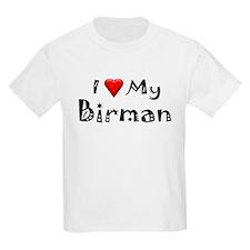 I Love My Birman T-Shirt
