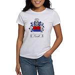 Piccioli Family Crest Women's T-Shirt