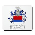 Piccioli Family Crest Mousepad