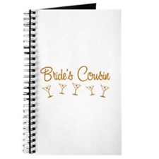 Orange Multi Bride's Cousin Journal
