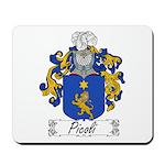 Picoli Family Crest Mousepad