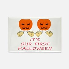 Our First Halloween Rectangle Magnet