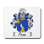 Picone Family Crest Mousepad