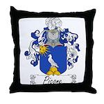 Picone Family Crest Throw Pillow