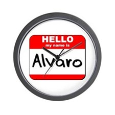Hello my name is Alvaro Wall Clock