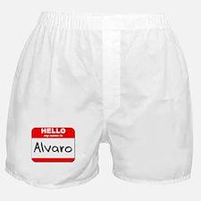 Hello my name is Alvaro Boxer Shorts