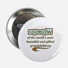 "Mamaw of Gifted Grandchildren 2.25"" Button"