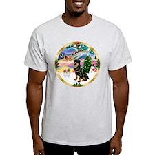 XmasMagic/ Rottie #3 T-Shirt