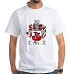 Piero Family Crest White T-Shirt