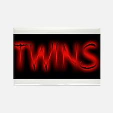 Halloween_TWINS Rectangle Magnet
