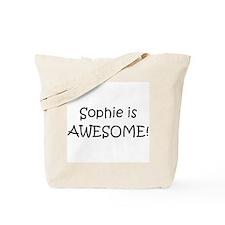 Unique Sophie Tote Bag
