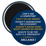 "McCain is McLame 2.25"" Magnet (10 pack)"