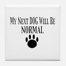Next Dog Normal Tile Coaster