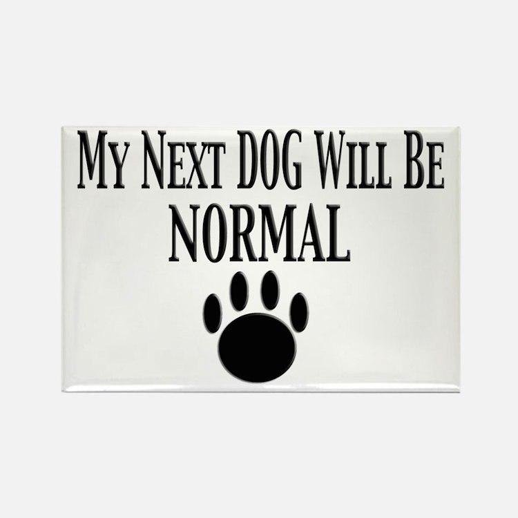 Next Dog Normal Rectangle Magnet