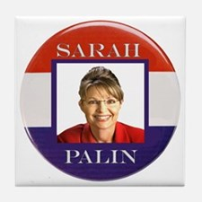 Sarah Palin Tile Coaster