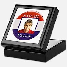 Sarah Palin Keepsake Box