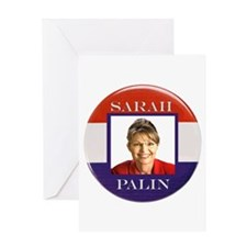 Sarah Palin Greeting Card