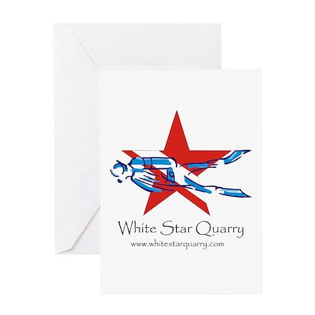 White Star Quarry Greeting Card