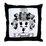 Pignatelli Family Crest Throw Pillow