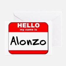 Hello my name is Alonzo Greeting Card