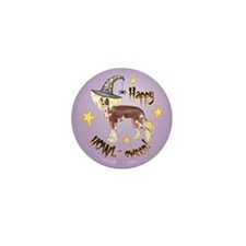 Halloween Chinese Crested Mini Button (10 pack)