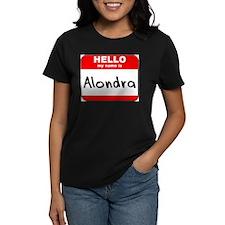 Hello my name is Alondra Tee