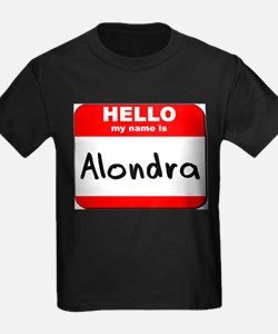 Hello my name is Alondra T