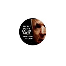 Please Don't Eat My Baby! Mini Button (10 pack)