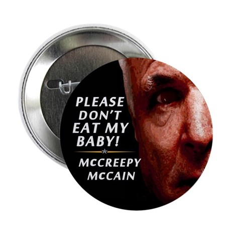 "Please Don't Eat My Baby! 2.25"" Button"