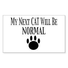 Next Cat Normal Rectangle Decal