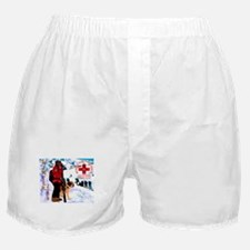 Mt Hood Search and Rescue Boxer Shorts