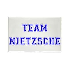 Team Nietzsche Rectangle Magnet (10 pack)