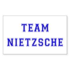 Team Nietzsche Rectangle Decal