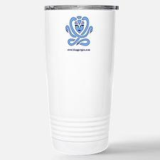 Blue Gorgon Logo Stainless Steel Travel Mug