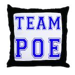 Team Poe Throw Pillow