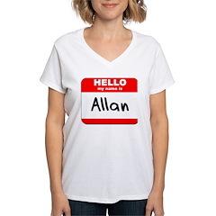 Hello my name is Allan Shirt