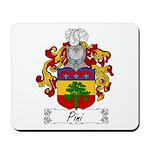 Pini Family Crest Mousepad