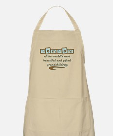 MomMom of Gifted Grandchildren BBQ Apron