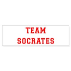 Team Socrates Bumper Bumper Sticker