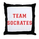 Team Socrates Throw Pillow