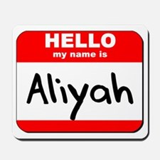 Hello my name is Aliyah Mousepad