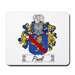 Pinoli Family Crest Mousepad