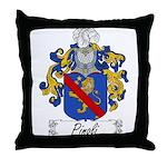 Pinoli Family Crest Throw Pillow