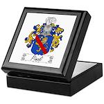 Pinoli Family Crest Keepsake Box